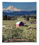 Surrounded By Beauty Fleece Blanket