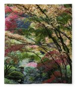 Surrounded By Color Fleece Blanket