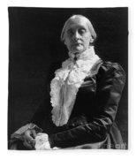 Susan B. Anthony (1820-1906) Fleece Blanket