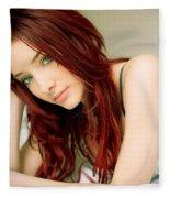 Susan Coffey Fleece Blanket