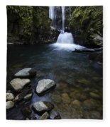 Susan Creek Falls Oregon 1 Fleece Blanket