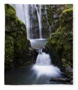Susan Creek Falls Oregon 4 Fleece Blanket