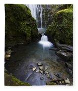Susan Creek Falls Oregon 5 Fleece Blanket