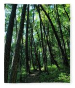 Susan Creek Indian Mound Trail Fleece Blanket