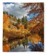 Susan River Reflections Fleece Blanket