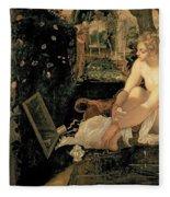 Susanna Bathing Fleece Blanket