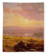 Susquehanna River Fleece Blanket