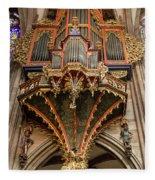 Swallows Nest Grand Organ Fleece Blanket