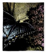 Swallowtail 1 Fleece Blanket