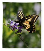 Swallowtail Butterfly 1 Fleece Blanket