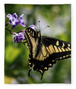 Swallowtail Butterfly 2 Fleece Blanket