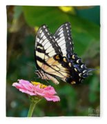Swallowtail Butterfly 3 Fleece Blanket