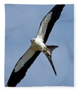 Swallowtail Kite Fleece Blanket