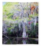Swamp Colors Fleece Blanket