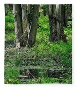 Swamp Fleece Blanket
