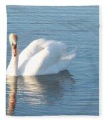 Swan Cape May Fleece Blanket