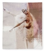 Swan Lake Dance  Fleece Blanket
