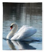 Swan Song Fleece Blanket