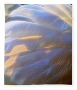 Swan Wing One Fleece Blanket