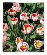 Swanhurst Tulips Fleece Blanket