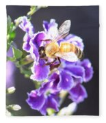 Sweet Bee Fleece Blanket