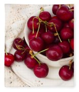 Sweet Cherry  Fleece Blanket