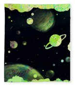 Sweet Dreams And Starry Nights Fleece Blanket