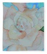 Sweet Gardenia Fleece Blanket