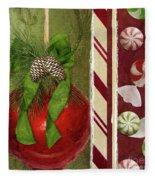 Sweet Holiday II Fleece Blanket