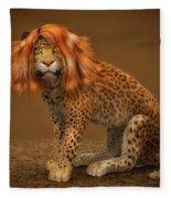 Sweet Lady Leopard Fleece Blanket