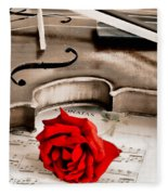 Sweet Music Fleece Blanket