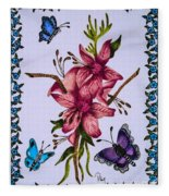 Sweet Nectar Fleece Blanket