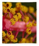 Sweet Pollen Fleece Blanket
