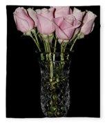 Sweetheart Roses Fleece Blanket