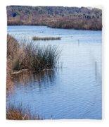 Sweetwater Wetland Pond Fleece Blanket