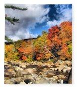 Swift River New Hampshire Fleece Blanket
