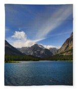 Swiftcurrent Lake - Glacier Np Fleece Blanket
