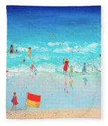 Swim Day Fleece Blanket