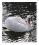 Swimming Along Fleece Blanket