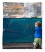 Swimming Lesson Fleece Blanket