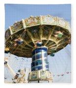 Swing Ride Fleece Blanket