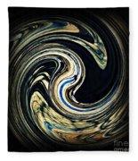 Swirl Design  Fleece Blanket