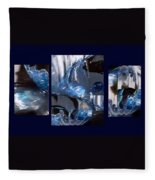 Swirl Fleece Blanket