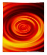 Swirled Sunrise Fleece Blanket