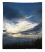 Swirling Skies Fleece Blanket