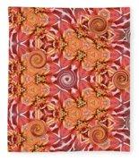 Swirls Abstract Fleece Blanket