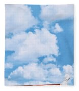 Swiss Lanes Fleece Blanket