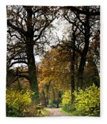 Swithland Woods, Leicestershire Fleece Blanket