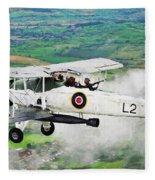 Swordfish Aircraft 2 Fleece Blanket