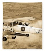 Swordfish Aircraft Fleece Blanket